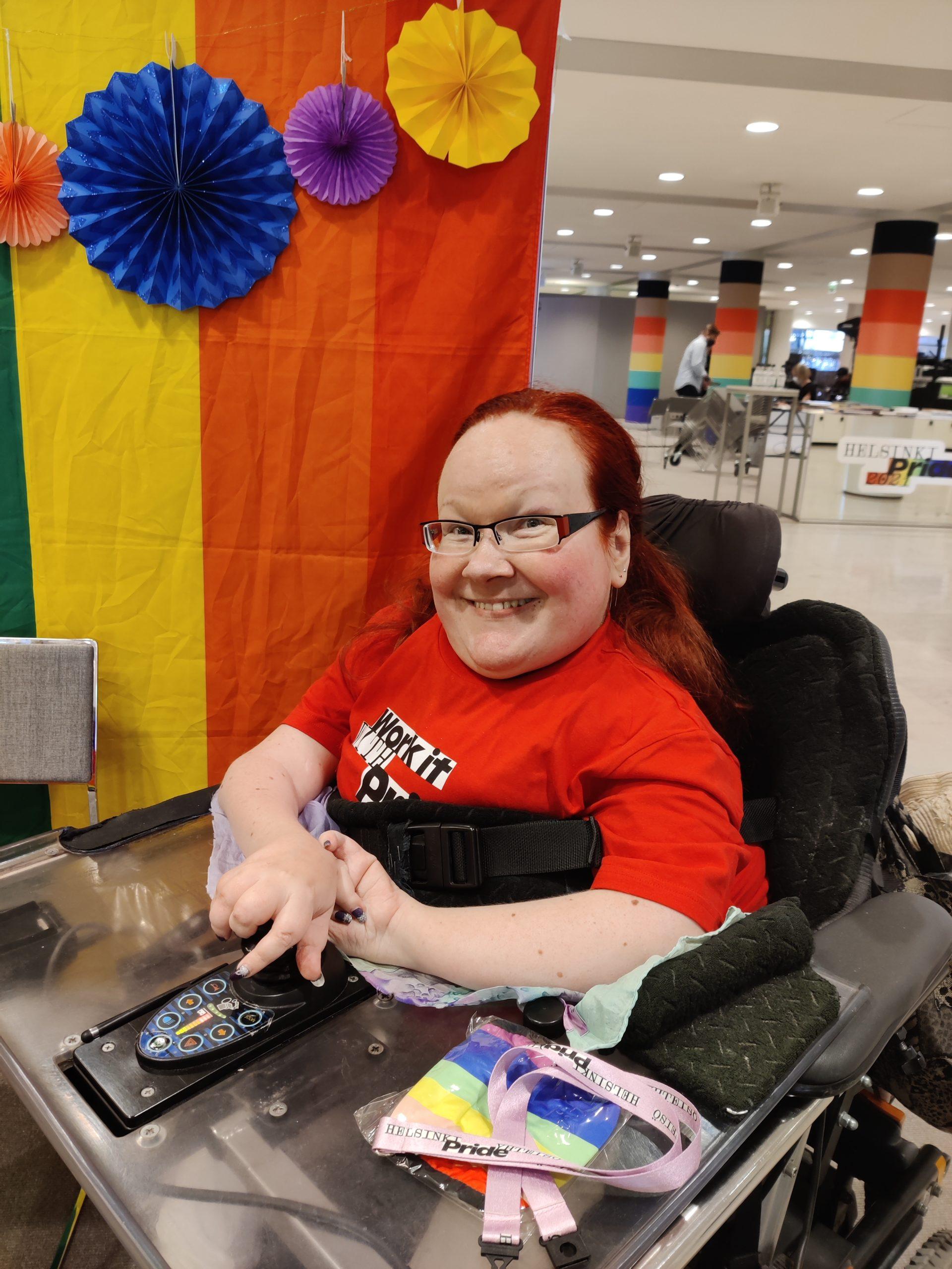 Pride 2021 Raila Riikonen